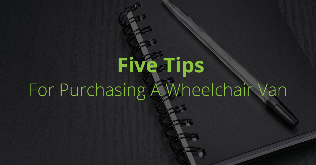 Five Tips For Purchasing A Wheelchair Van In Winnipeg