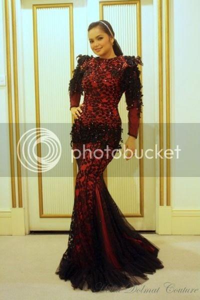 Siti Nurhaliza - Dress HITAM + MERAH | ''''zUnETa LoVE ...