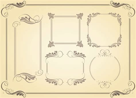 Classic frame vector free vector download (12,906 Free