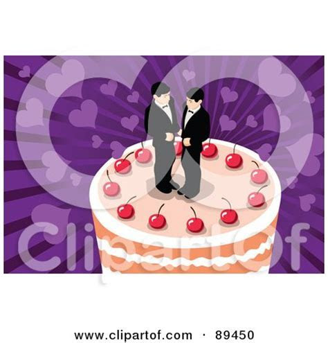 Royalty Free (RF) Gay Wedding Clipart, Illustrations