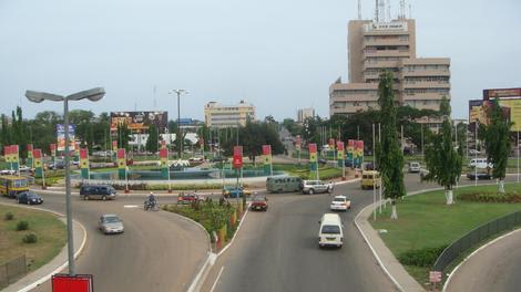 Downtown Accra, Ghana