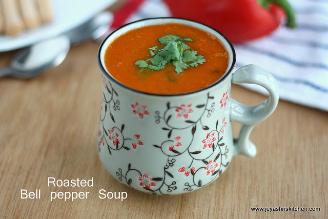 Bell pepper soup 2