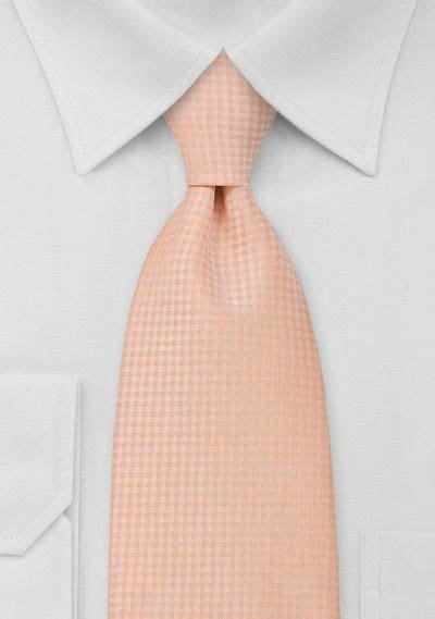 Light Orange Mens Necktie in 2019   Orange Neckties & Bow