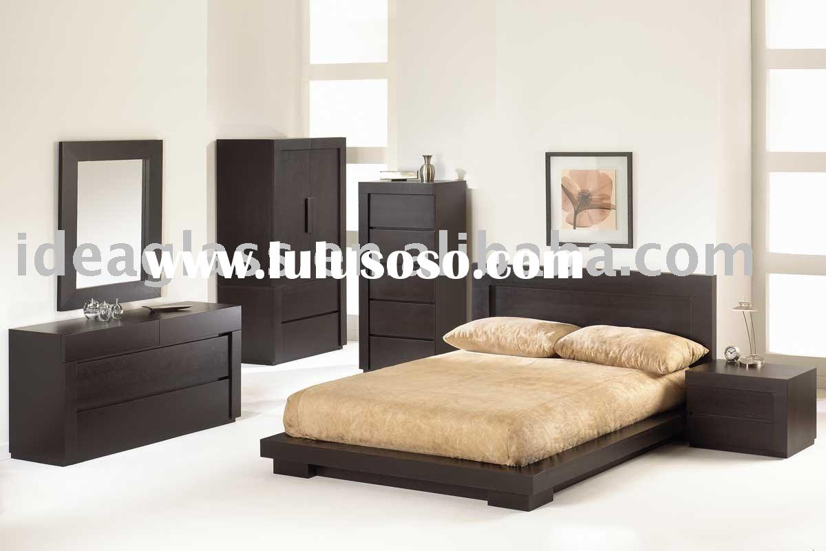 black modern bedroom set, black modern bedroom set Manufacturers ...