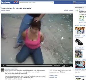 mulher decapitada facebook
