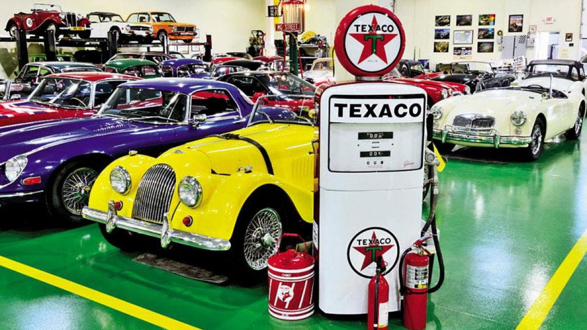 Vintage Classic Garage Full Octane Insurance Collector Exotic Car Insurance Specialists