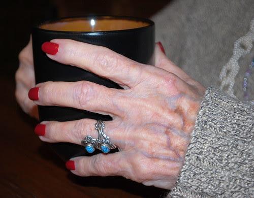 Nana hands mug