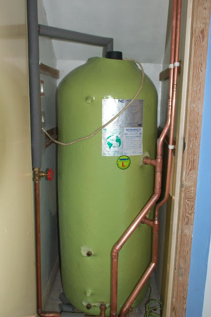 twin coil solar hot water cylinder