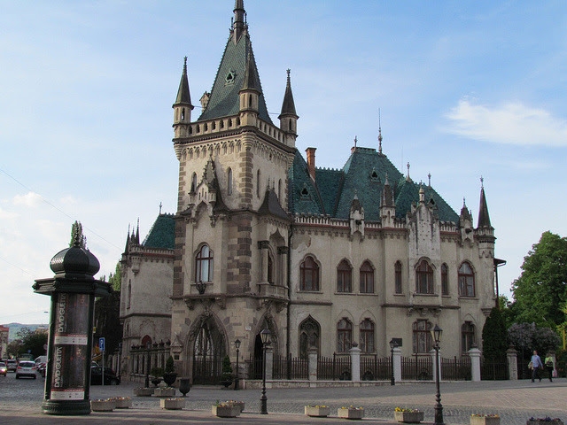 by twiga_swala on Flickr.Jakab's Palace in Košice, eastern Slovakia.