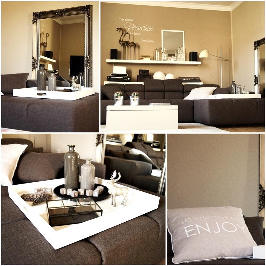 Wohnzimmer Dekorieren Ideen Exquisit On überall Deko Fur ...