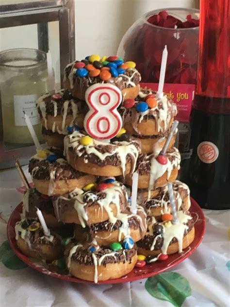 Best 25  Donut tower ideas on Pinterest   Baby shower