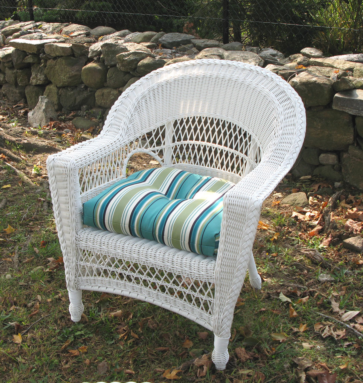 Wicker Dining Chair Replacement Cushions
