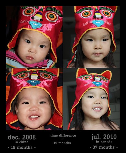 chinese tiger hat - then & now