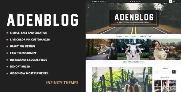 Aden responsive premium theme 2017