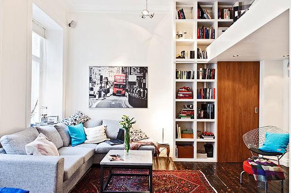 Small Swedish Apartment — Shoebox Dwelling | Finding comfort