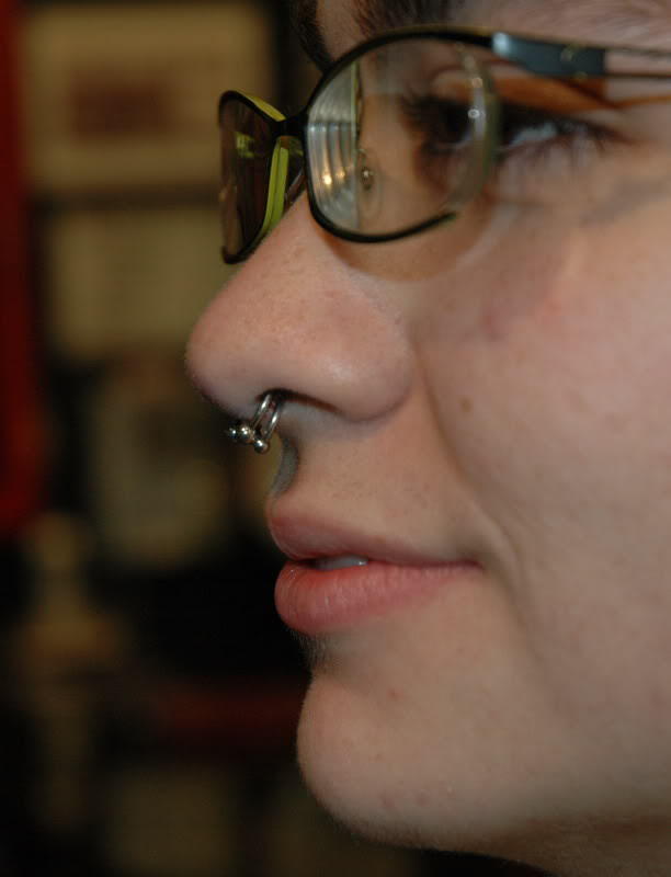 Septum Piercing Information Pain Aftercare Jewelry Cost Body