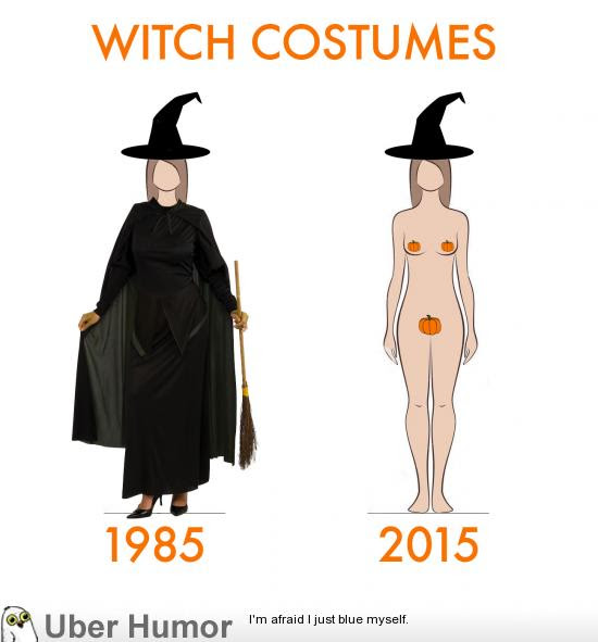 Witch Costume Then And Now Funny Pictures Quotes Pics Photos