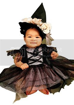 baby witch costume