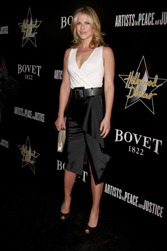 Ali Larter at The Hollywood Domino pre-Oscar Gala and Tournament held at the Sunset Tower Hotel - Nikki Nelson/WENN.com