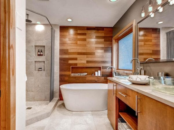 Remodelaholic | How to Add a Wood Plank Wall to your Home
