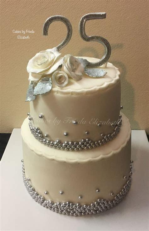 Best 25  25th anniversary cakes ideas on Pinterest   25