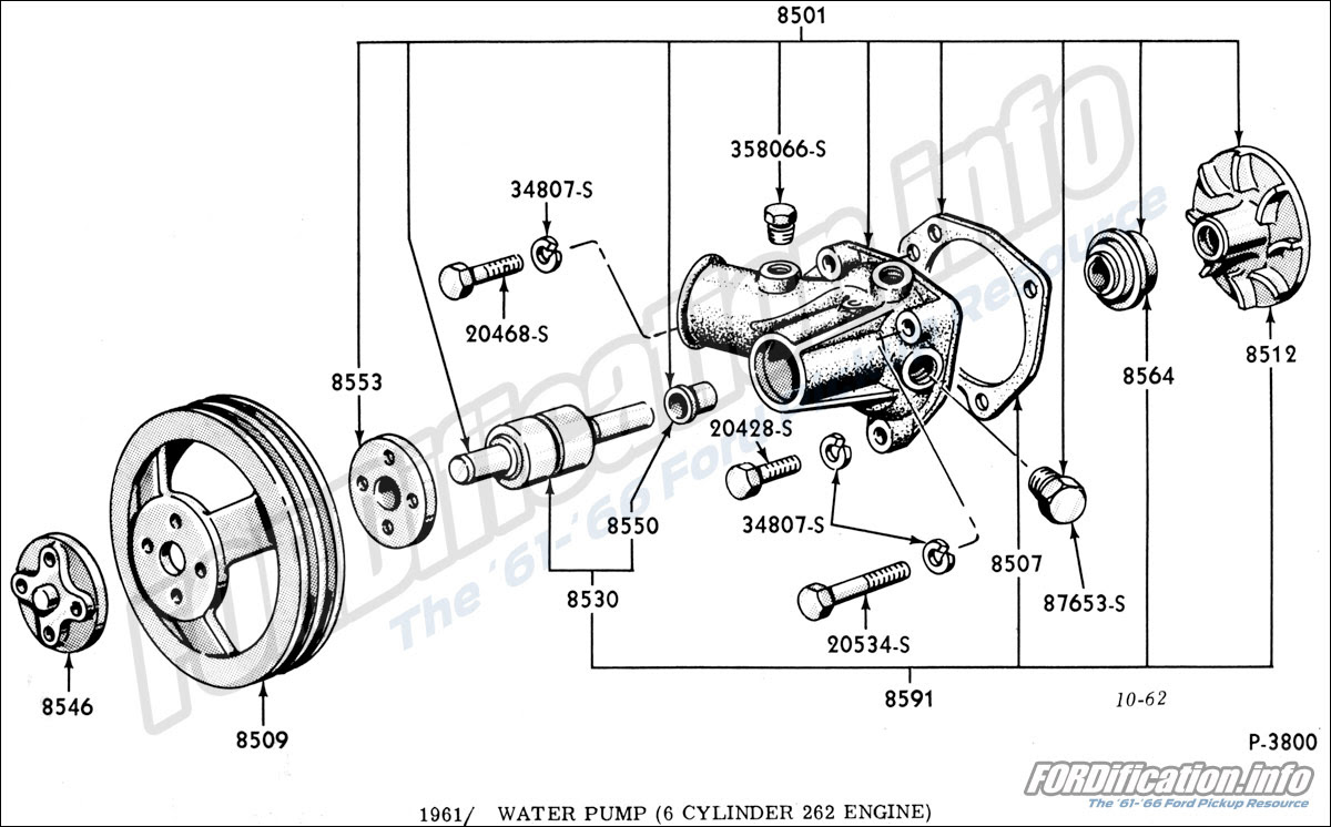 Engine Related Schematics Fordification Info The 61 66 Ford Pickup Resource