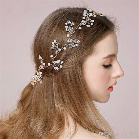 Fashion New Crystal Handmade Bridal Headpieces 2017 Cheap