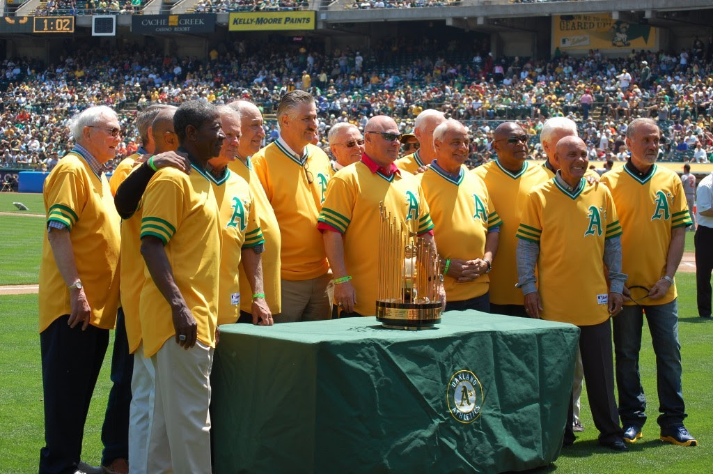 1973 A's honored