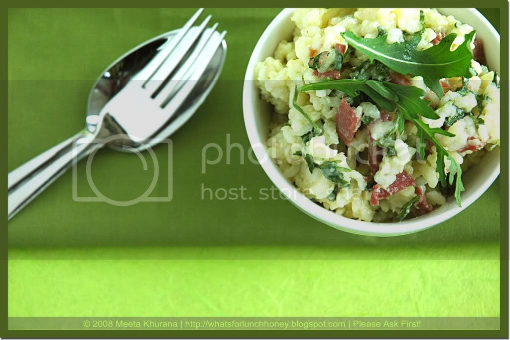 Rucola Bresaola Risotto (04) by MeetaK