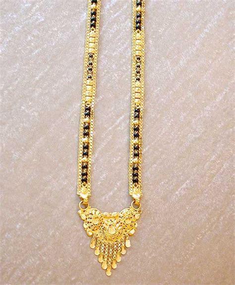 Gold Mangalsutra Design, Gold Jewellery Mangalsutra, 22K