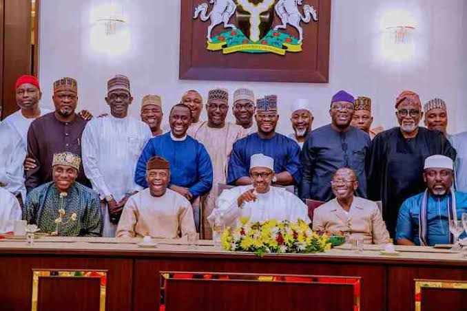 buhari and apc governors and senators