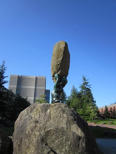 My favorite sculptures at WWU