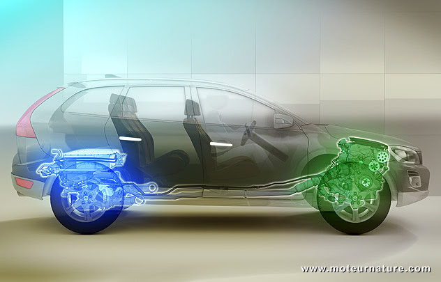Certificat vehicule d'occasion: Volvo hybride xc60