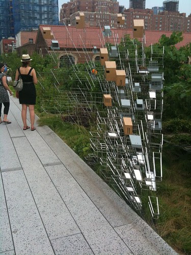 Bird feeder/sculpture