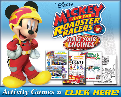 Download Mickey And The Roadster Racers - Start Your Engines Activities