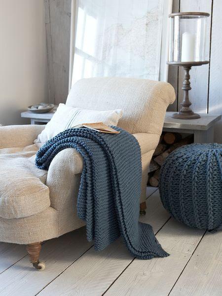 .nice cozy corner to read in.