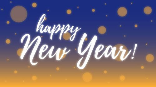 New Year Background Happy New Year Powerpoint Template Background Free Download Slidebackground
