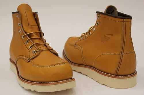 Red Wing Mens Lace Up Honey Work Logger Boots 10