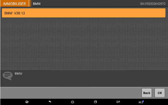 OBDSTAR X300 DP Program Smart Key for BWM FEM BDC (4)