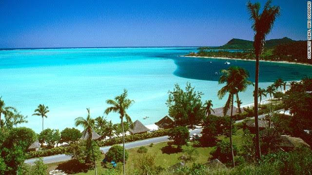 8. Matira Beach, Bora Bora, Tahiti
