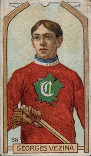 Vezina Montreal 1910-11