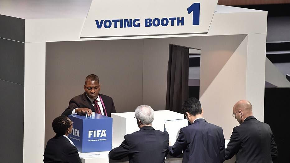 A votação das 209 federações começou por volta do meio-dia, horário de Brasília, e durou cerca de uma hora e meia