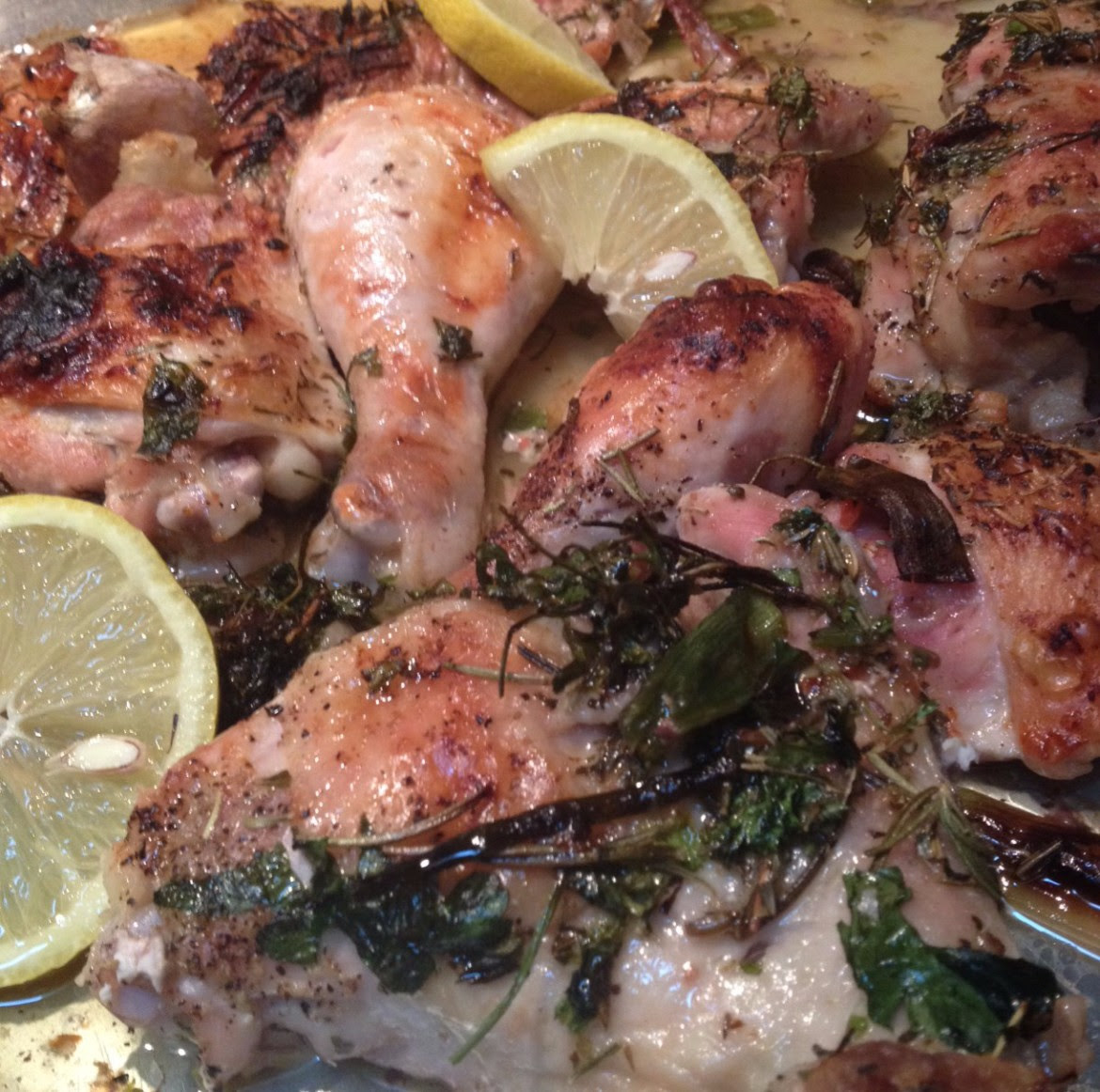 Italian Roasted Lemon Chicken