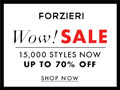 New Year Sale at FORZIERI.COM