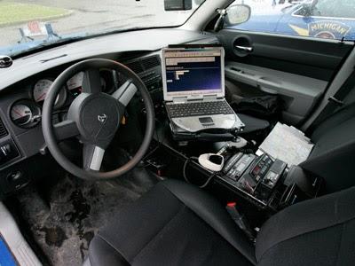 Police Car Interior Equipment