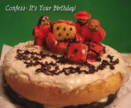 Spanish Inquisition Cake