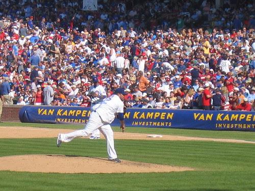 Cubs pitcher Carlos Silva