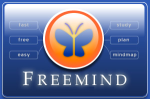 FreeMind Welcome Screen