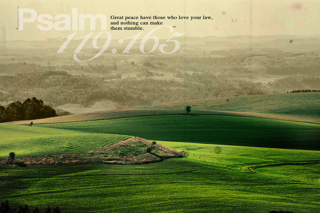 [Photo of a beautiful landscape with a Scripture verse superimposed]