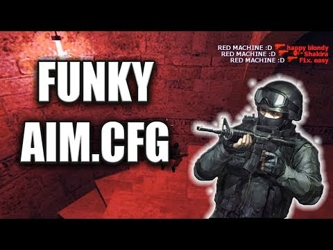 Counter Strike 1.6 FUNKY AIM.CFG Süper Hile Gibi Ayarlar 2019